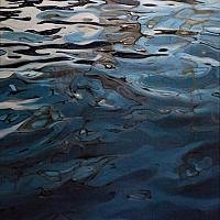 """Rhythm of the Bay 3/3"", oil/canvas"